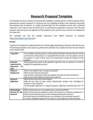 gantt chart research proposal