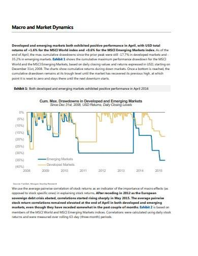 global market quantitative research report