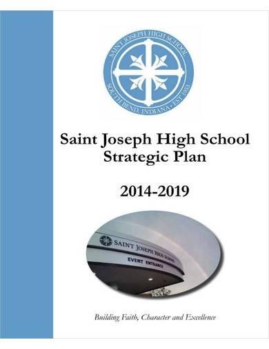 high school strategic plan
