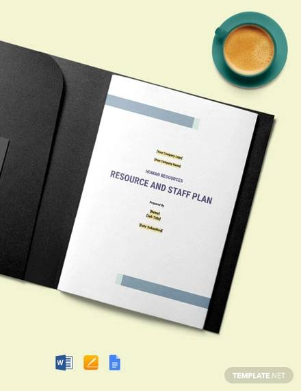 human resource planning template