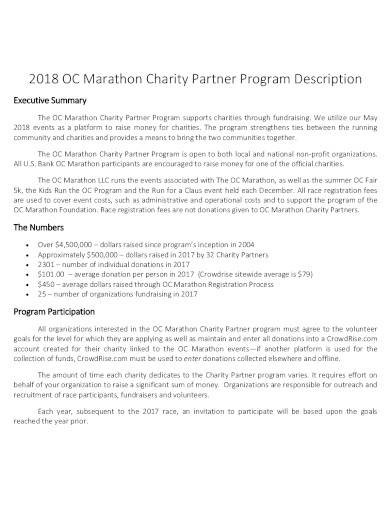 marathon charity partner program1