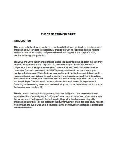 nursing case study overview template