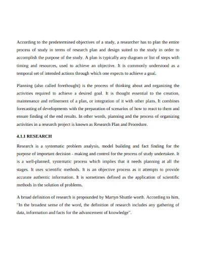 qualitative research plan sample