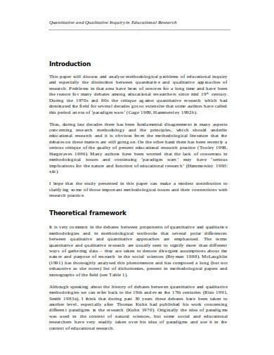 quantitative educational research