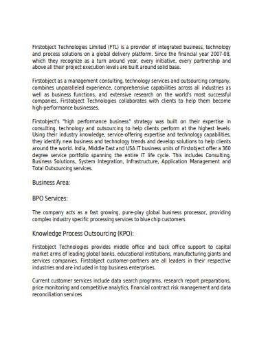 sample equity research report template