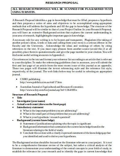 scientific research proposal template