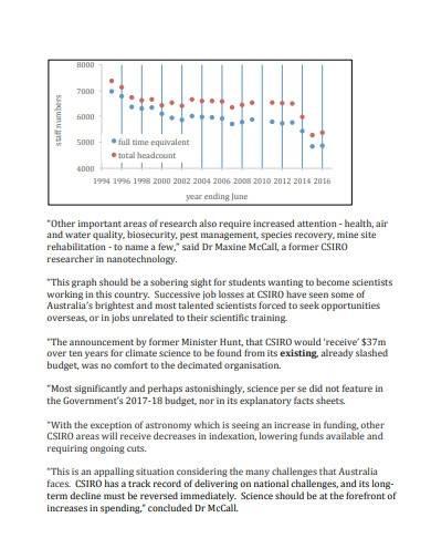 simple scientific research report