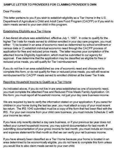 sponsoring organizations letterhead