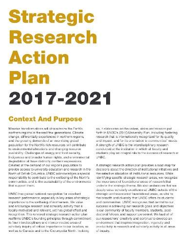 strategic research action plan template