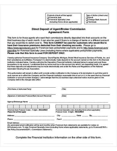 Free 10 Agent Commission Agreement Samples In Ms Word Pages Google Docs Pdf