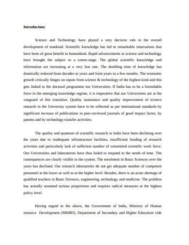 basic science research report