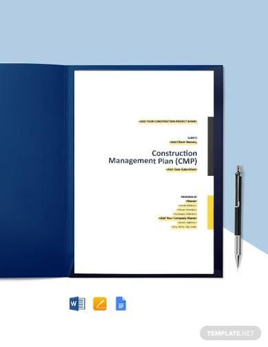 construction quality control management plan