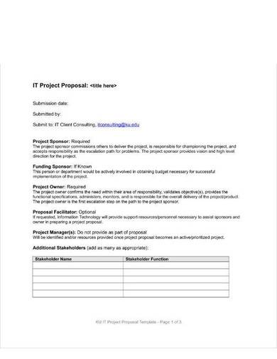 editable it project proposal