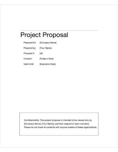 information technology project proposal