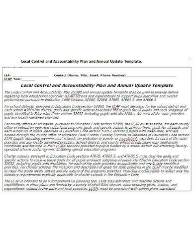 local control and accountability plan template