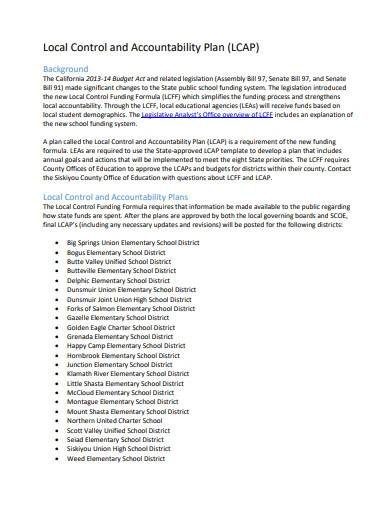 printable local control and accountability plan