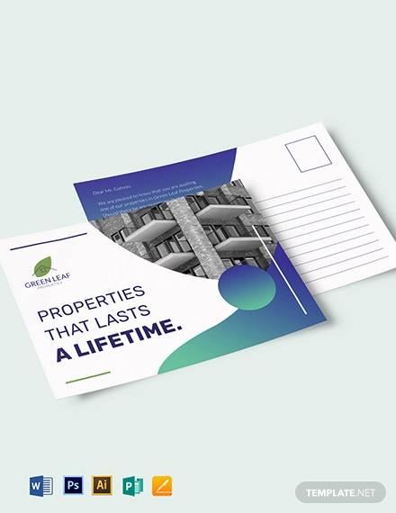 real estate postcard template1