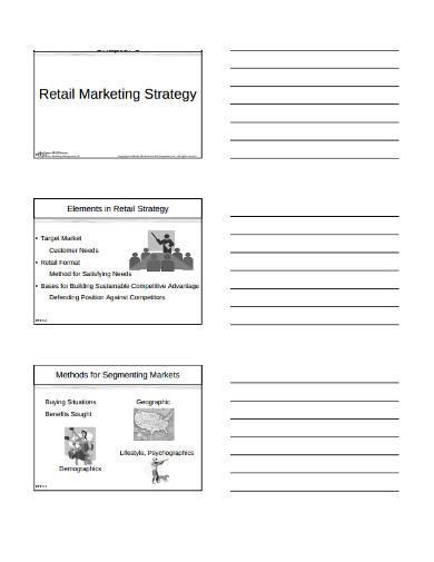 retail marketing strategy sample