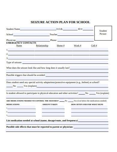 sample action plan for school