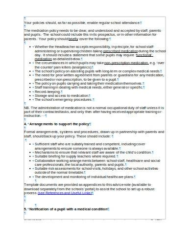 sample administration of medication policy