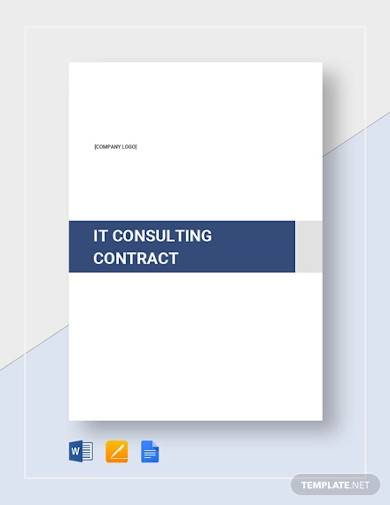 sample it consulting contract template