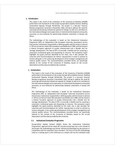 sample quality assurance audit report