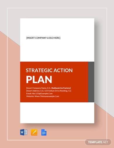 sample strategic action plan