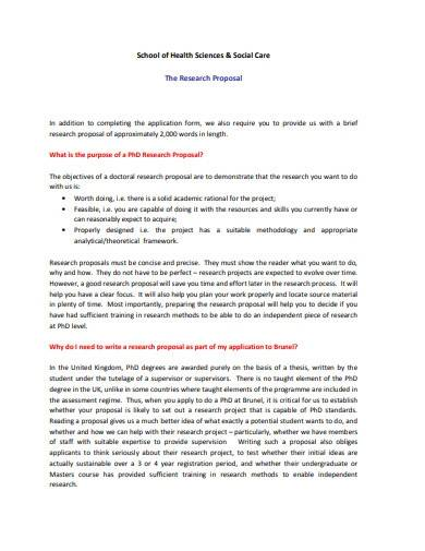 science school research proposal
