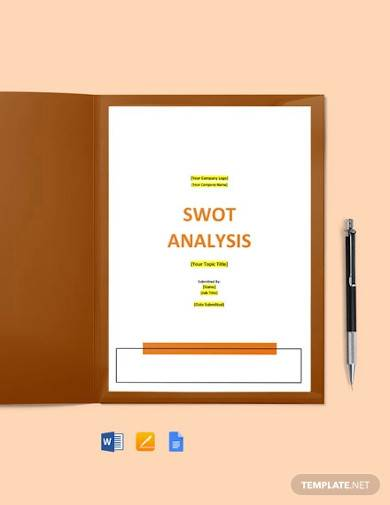 software swot analysis strategy