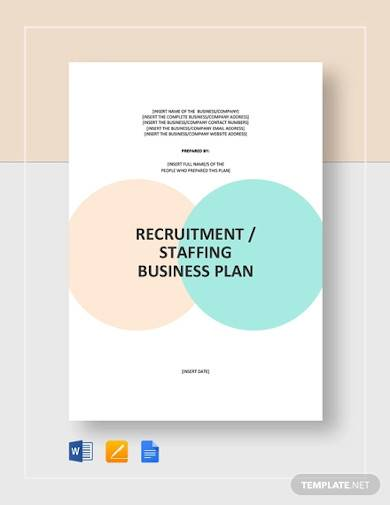 staffing agency business plan sample