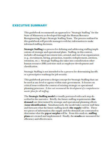 strategic staffing guidebook