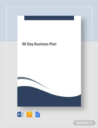 90 day business plan template1