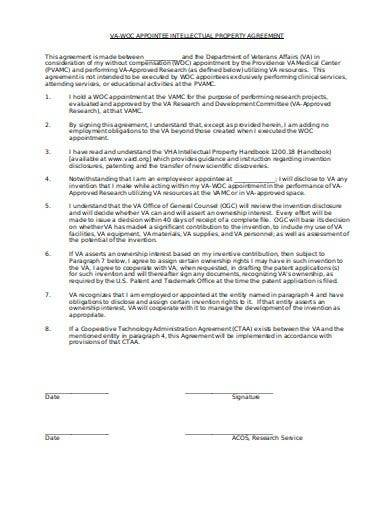 appointee intellectual property agreement