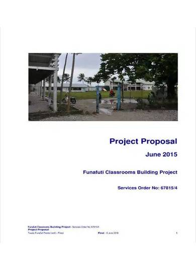 classroom project proposal template