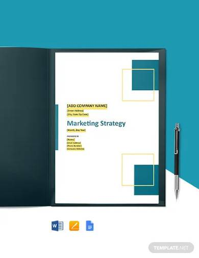 construction marketing strategy template