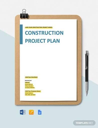 construction procurement management plan template