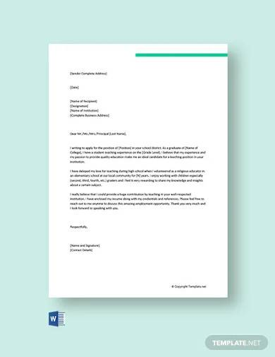 Cover Letter Template Doc from images.sampletemplates.com