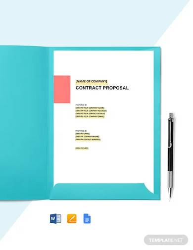 hotel management contract proposal template