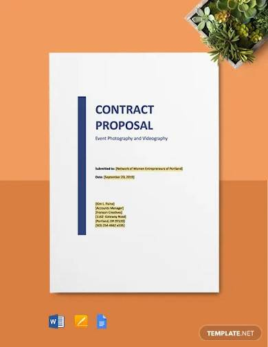 partnership contract proposal template
