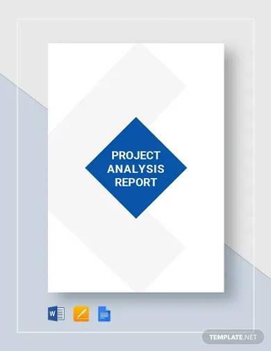 project analysis report template