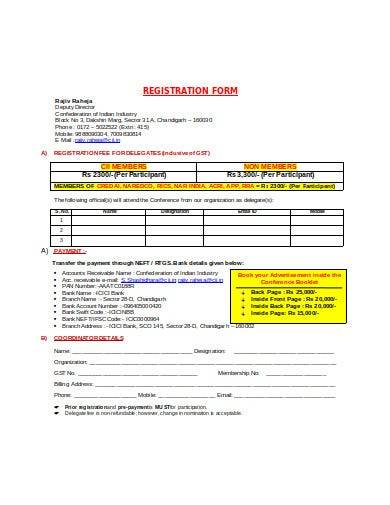 real estate registration form