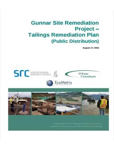 sample project remediation plan