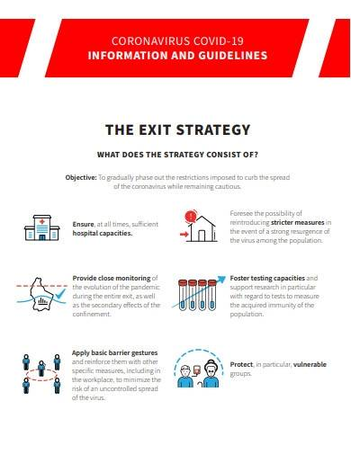 covid 19 exit strategy template