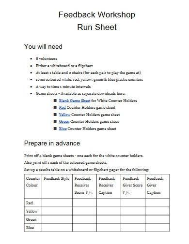 feedback workshop run sheet1