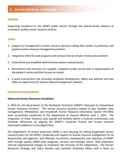 human resource consulting business plan