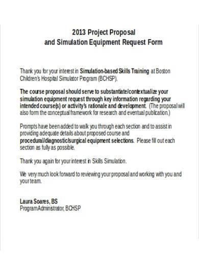 skill training project proposal