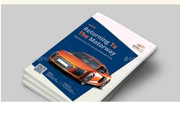 auto car brochure
