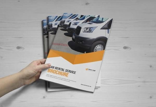 automotive car brochure template
