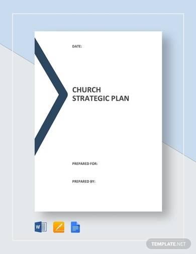 church strategic plan template