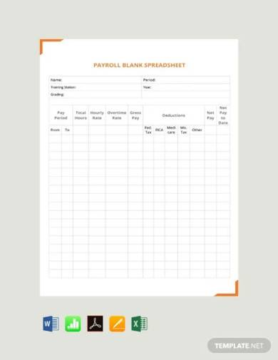free payroll spreadsheet template